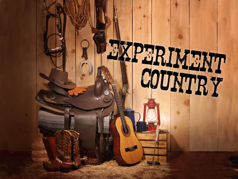 experiment country akce